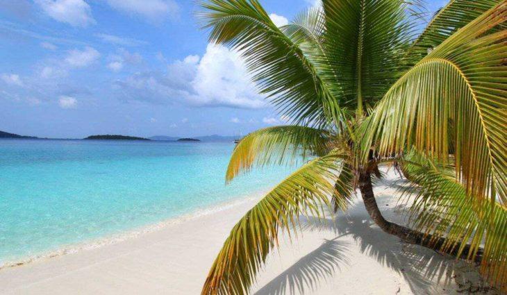 Honeymoon Beach St John USVI US Virgin Islands 1
